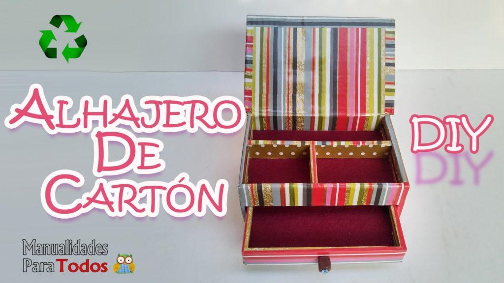 MANUALIDADES JOYEROS DE CARTÓN