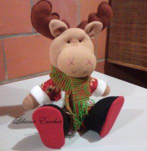 como hacer muñecos de navidad