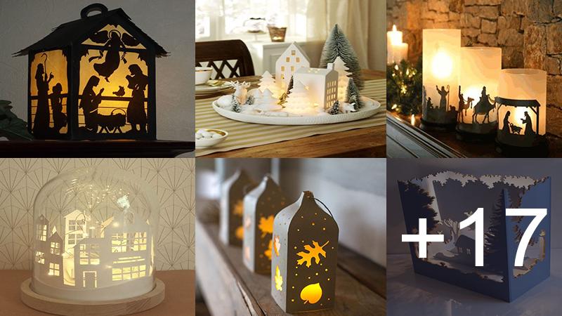 Aprende hacer lamparistas led navideñas