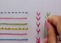 Aprende hacer bordados únicos muy fácil
