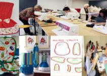 hacer forros de licuadoras de tela con patrones