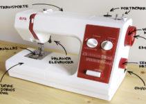 Conoce las partes de tu maquina de coser