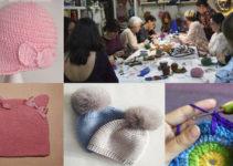 aprende hacer gorritos de crochet para bebés