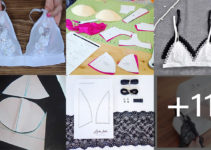 Aprende hacer brazier de encaje con patrón