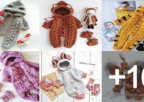 aprender hacer enterizo de crochet para bebés