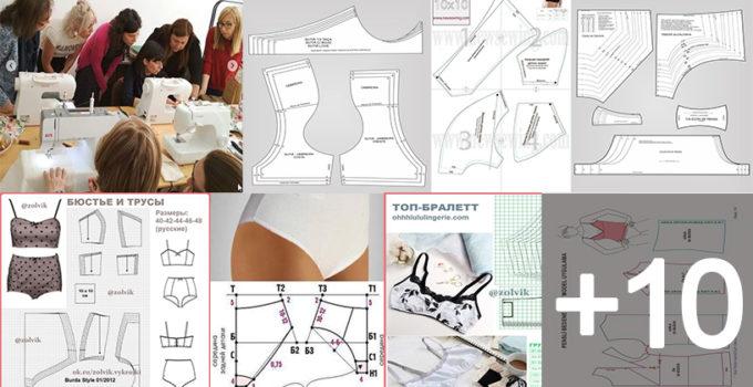 corte y confección: Aprende a Como hacer ropa interior
