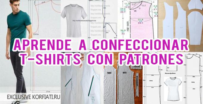 CONFECCIONAR T-SHIRTS PASO A PASO