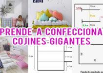 CORTE Y CONFECCIÓN DE COJINES GIGANTES
